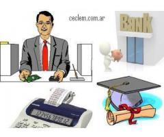 curso CAJERO BANCARIO COMERCIAL  PROFESIONAL