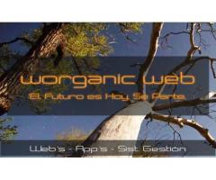 Worganic Web Diseño de Vanguardia