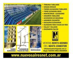 Tribunas Gradas Escenarios Torres Elevadoras Elevador de Placas Escaleras Telescopicas