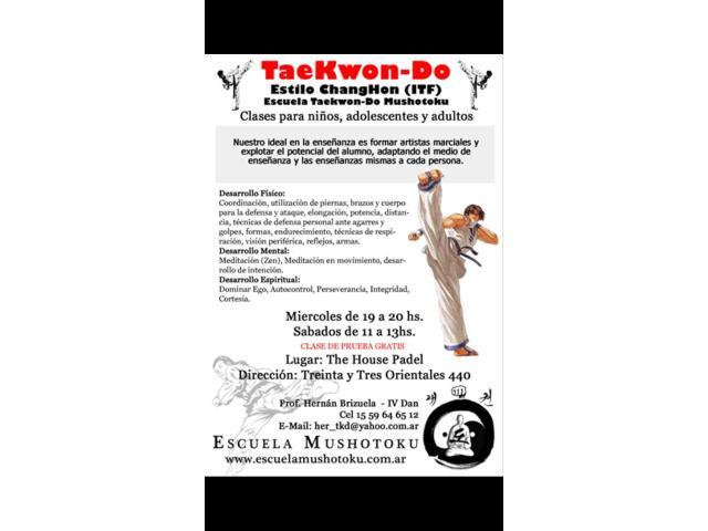 Clases de TaekwonDo en Almagro, Buenos Aires