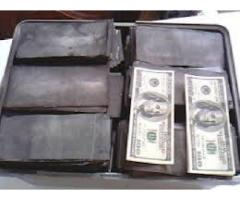 Solución universal SSD para limpiar dinero negro