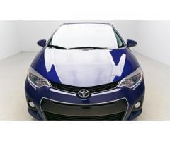 Se vende auto Toyota Corolla S M-2015